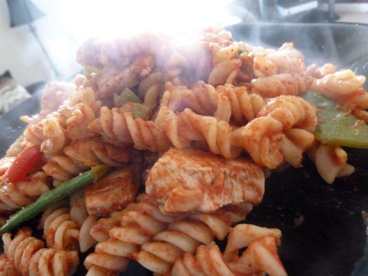 Tuna bacon pasta bake recipe
