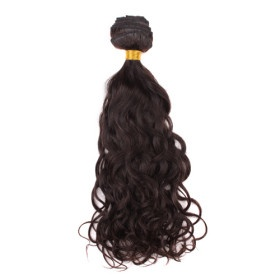 100% Indian Virgin Remy Hair 16 Inch Machine Made Natural Curl Hair Weave