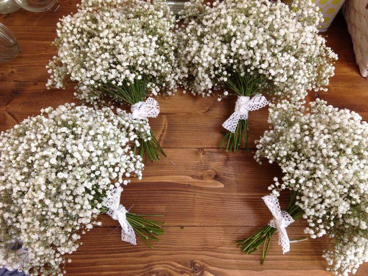 Gyp bridesmaids bouquets