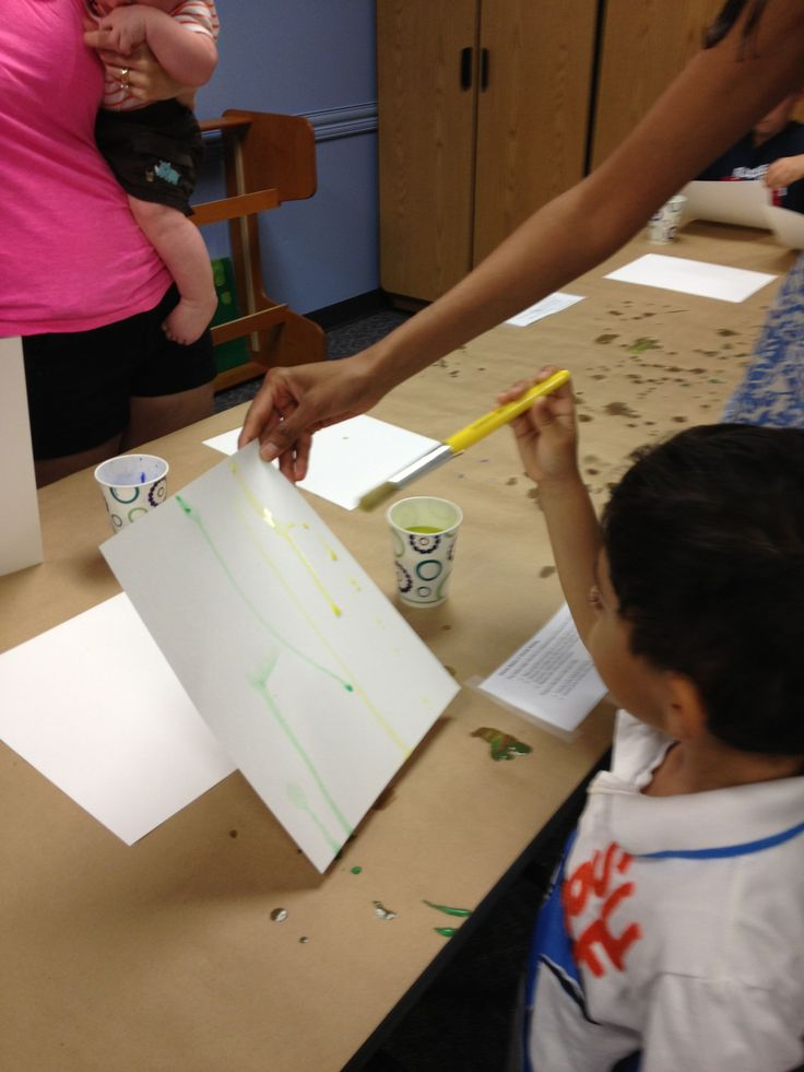 Show Me STEAM: Painting with Forces