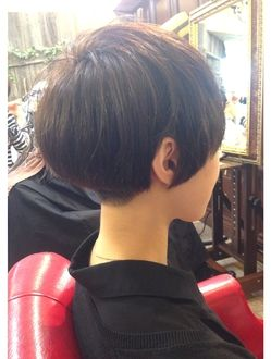 Cute cut while growing out a pixie