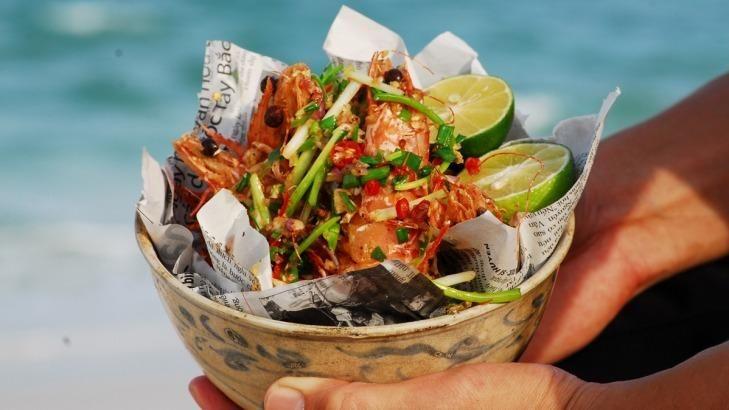 Luke Nguyen's Salt & Pepper Tiger #prawns.