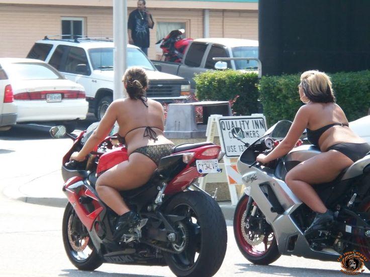 hottest pics at black bike week