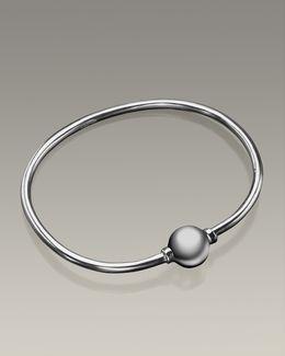 Silver Codder Bracelet Cremation Jewelry