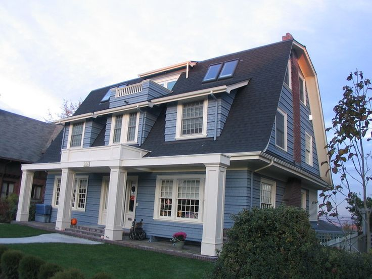 With Its Flared Eaves The Gambrel Roof Is The