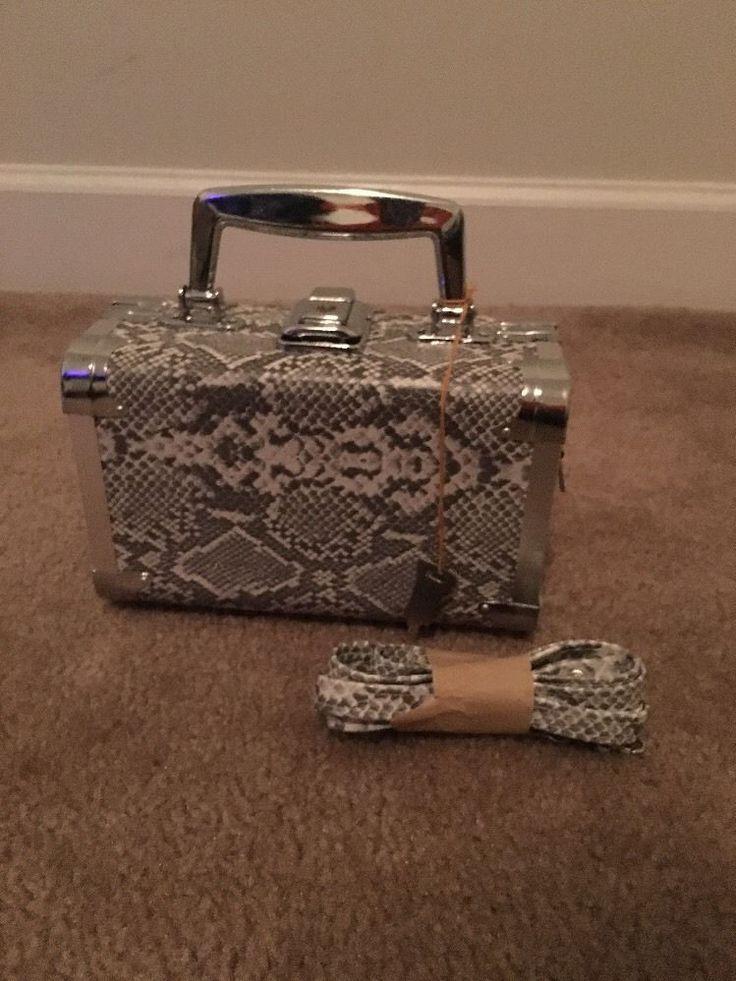 Chateau Womens Suitcase Style Small Purse Handbag Pocket Book Multicolor NWOT #Chateau #Handbagpurse