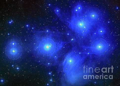Pleiades Constellation by Louie Navoni