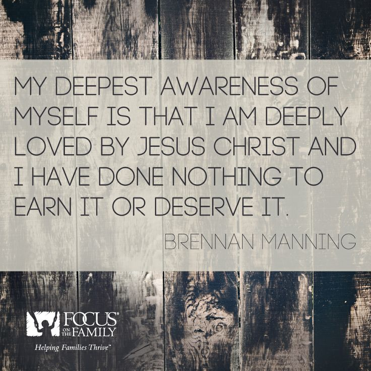 Did you know you are deeply loved? #BrennanManning