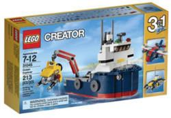 LEGO Creator Ocean Explorer Set for $10  pickup at Target #LavaHot http://www.lavahotdeals.com/us/cheap/lego-creator-ocean-explorer-set-10-pickup-target/195470?utm_source=pinterest&utm_medium=rss&utm_campaign=at_lavahotdealsus