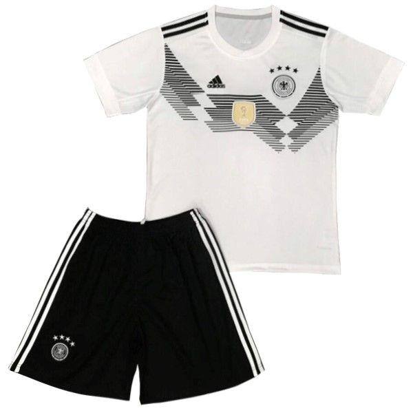 Futbol Originales Casa Conjunto De Niños Alemania 2018 Blanco ... e957e754de88a