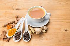 Bulletproof Turmeric Tea/Golden Milk recipe