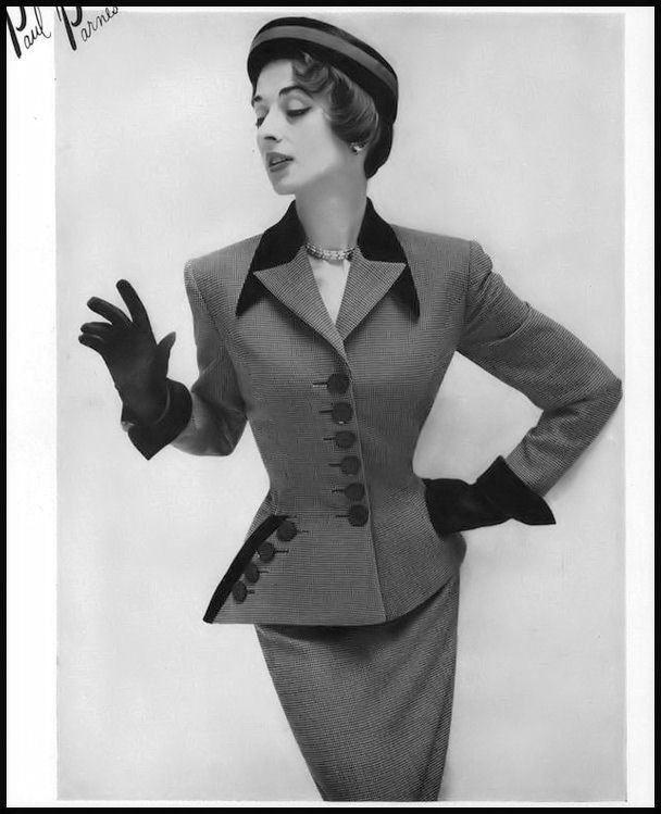 Flickr Dorian Leigh, Vogue, September, 1950