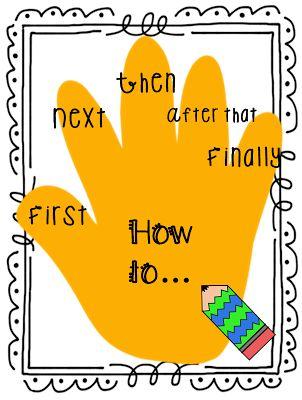 First Grade Wow: Anchor Chart