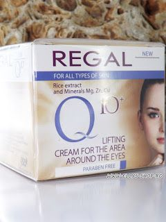 Ellys Shop: Crema contur ochi, regeneranta cu Q10