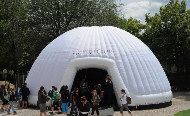 Inflatable Dome from The Events Structure - Exterior