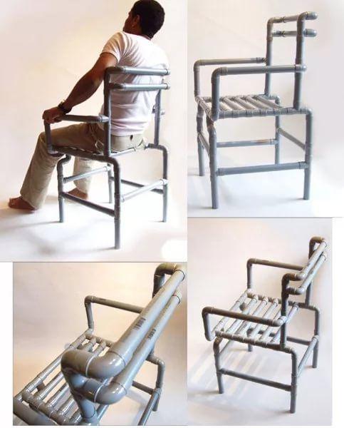 стул из пластиковых труб мастер класс: 17 тыс изображений найдено в Яндекс.Картинках