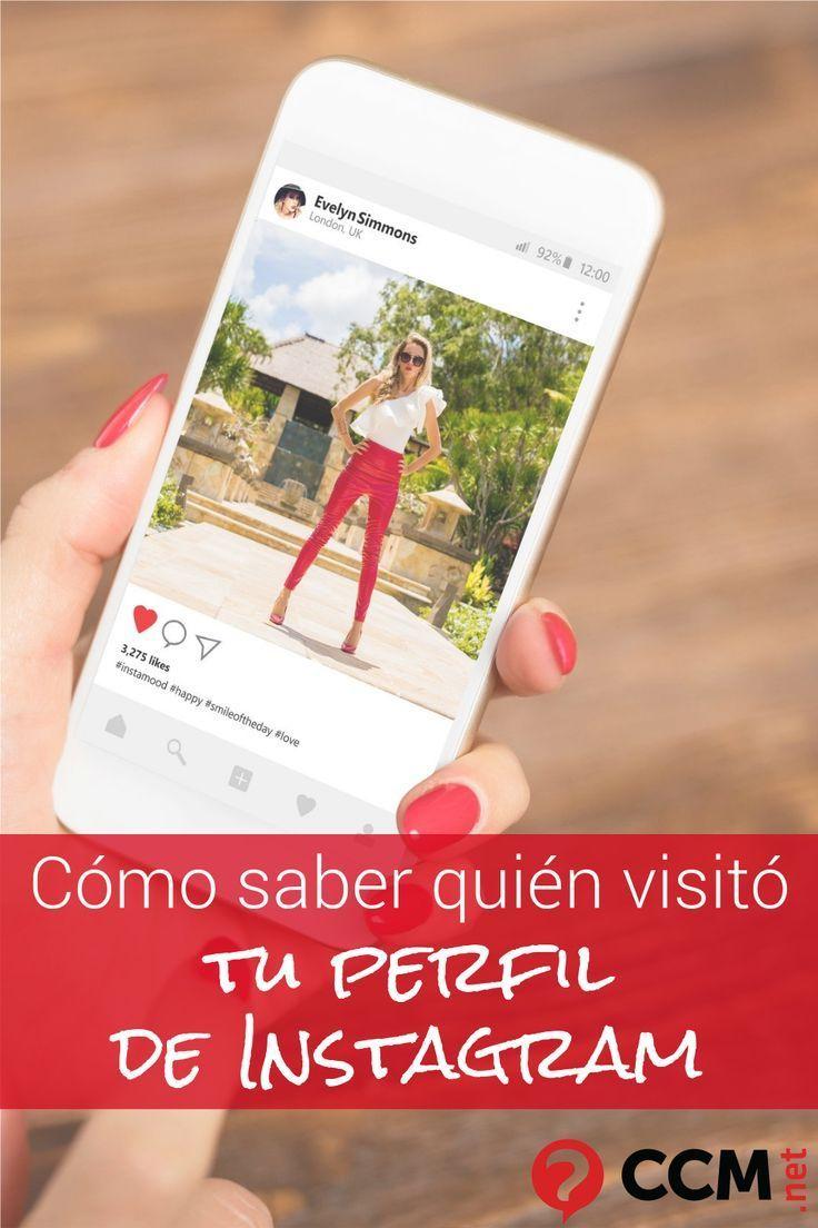 Cómo Saber Quién Visita Mi Perfil De Instagram Instagram Strategy Instagram Tips Instagram