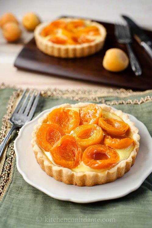 Apricot pie  kitchenconfidante.com