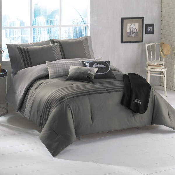 Guest Room Quiksilver Rogue Decorative Bedding Set Bed
