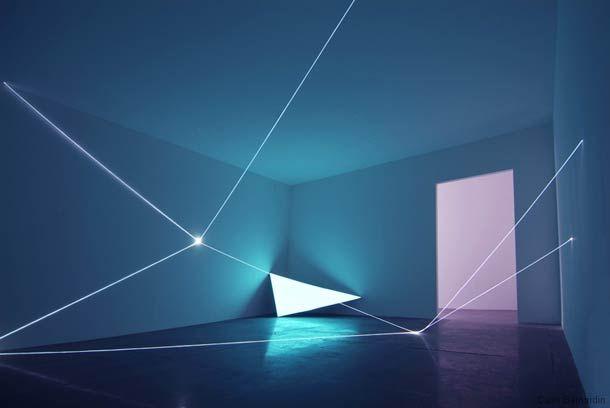 Space Light – Créations lumineuses de Carlo Bernardini