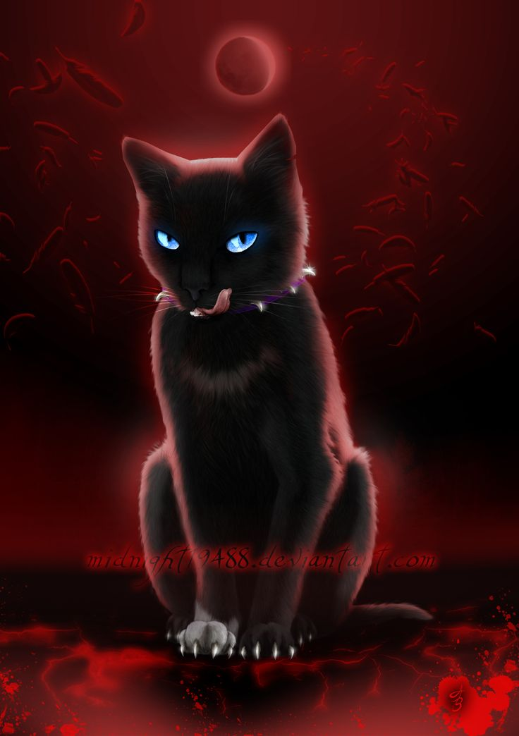 Warrior Cats - Scourge. BloodClan leader. Love her. One of my favourite WC cats