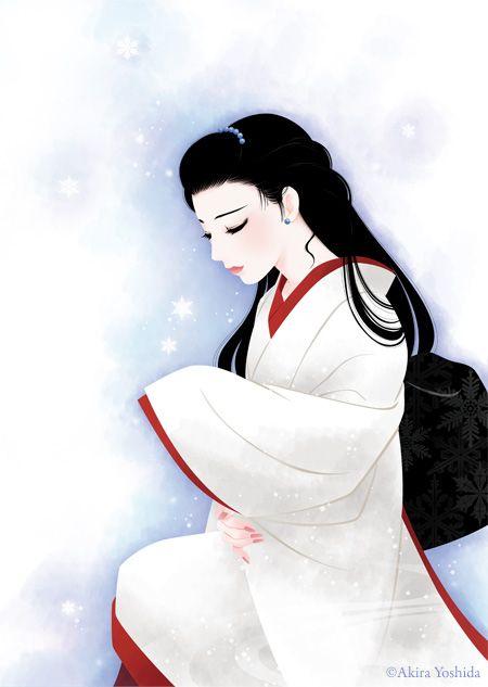 Japan Beauty「雪の華」