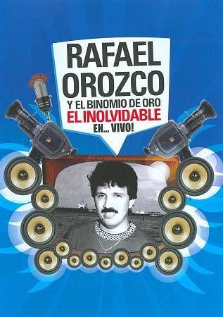 """Rafael Oroczo Y El Binomio de Oro: """"El Inolvidable en... Vivo!"""" DVD - Sealed"""