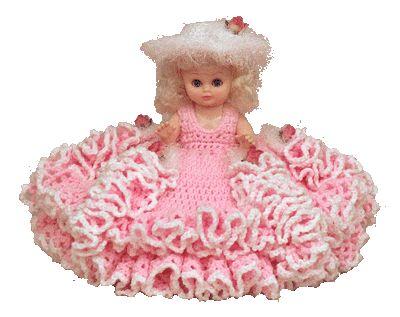 7160 PDF Crochet Bed Doll Pattern Mary Lu Crochet Bed Dol
