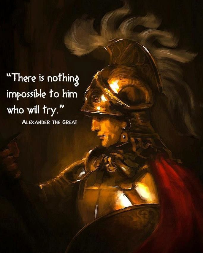 Alexander the Great, so very young to have been a leader of huge military campaigns and to have accomplished so very much~