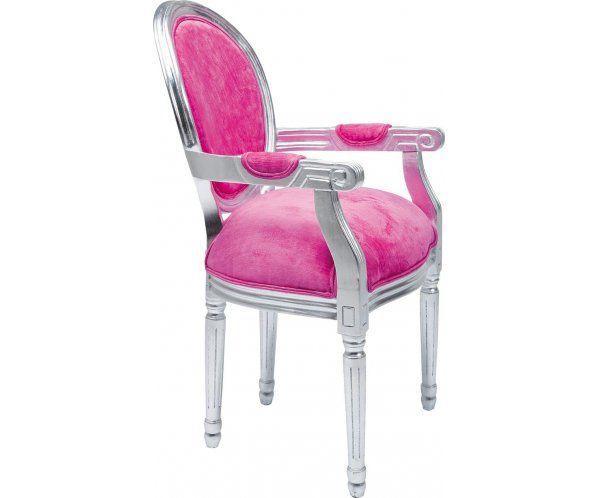 Armrest Louis Silverleaf Pink Krzesło z Podłokietnikami - 2