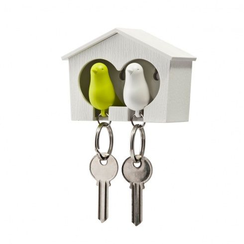 Duo Sparrow key holder by Qualy | www.lovethesign.com/uk