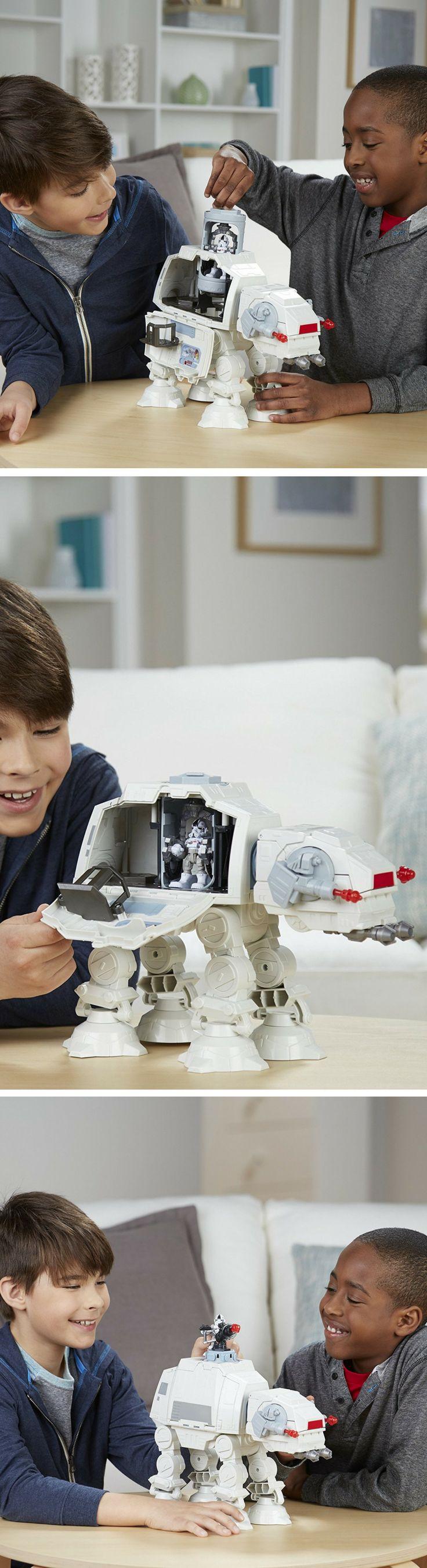 Star Wars Galactic Heroes Imperial AT-AT Fortress - Star Wars Gifts for kids #starwars #gifts #kids