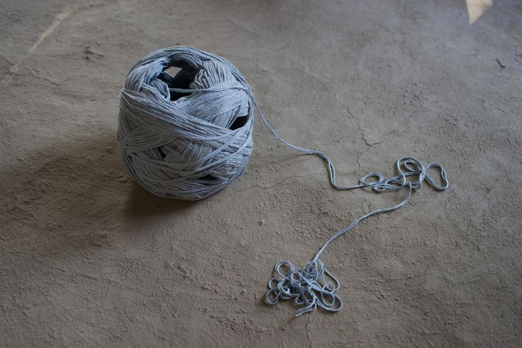 The beginning. Unleashing the yarn.