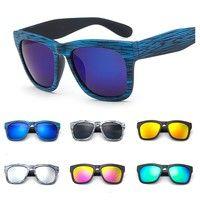 Wish | MOODHOD new 2016 fashion men women sunglasses wooden  style UV 400 retro 7 colors vintage cheap sunglasses