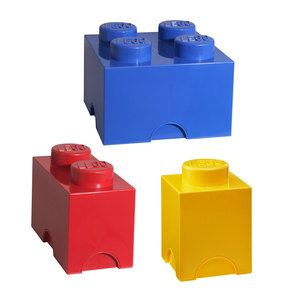 LEGO Storage Brick Set Of 3, $69.99, now featured on Fab.