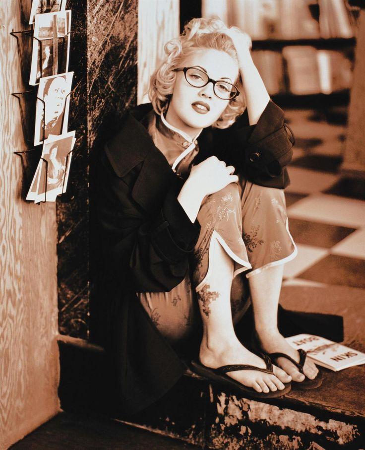 Drew Barrymore photographed by Matthew Rolston for Seventeen Magazine in 1993: Marilyn Monroe, Glasses, 90S Fashion, Matthew Rolston, Barrymore Photographers, Seventeen Magazines, Beautiful People, The 90S, Drew Barrymore
