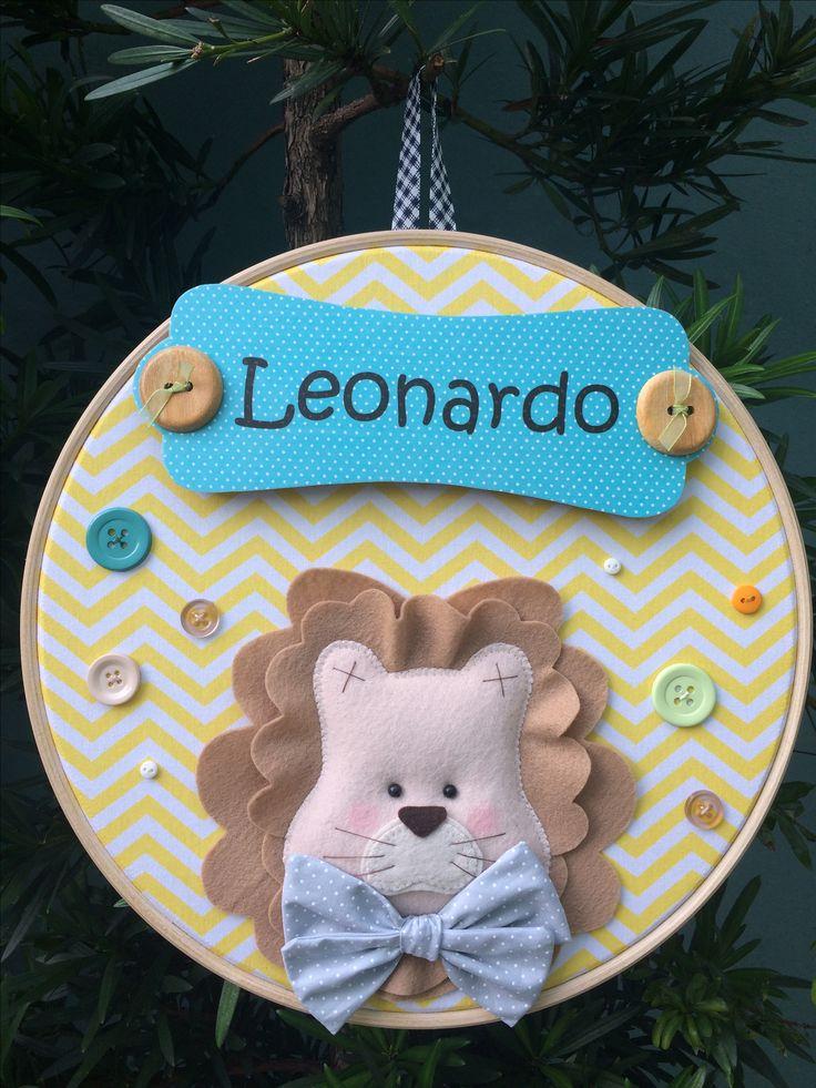 Leão para tema Safari. Mais um sucesso entre as mamães! #cosamano #maternidade #bebe #leao #lion #safari #baby #portamaternidade  Curso da querida Debora Radtke para Eduk