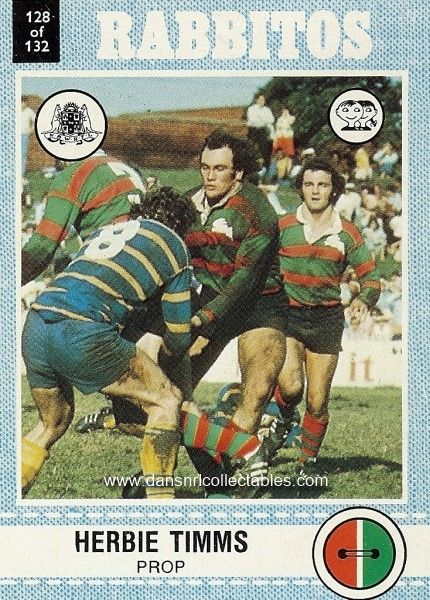 1977 128 Souths Rabbitos