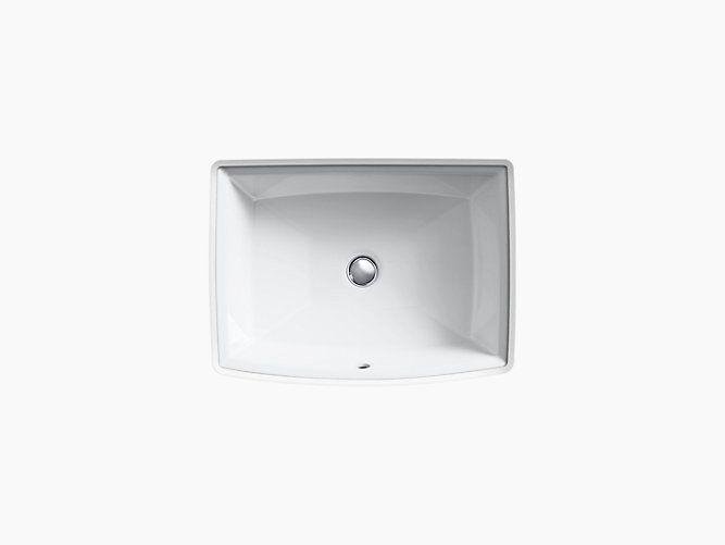 Kohler Archer under-mount bathroom sink