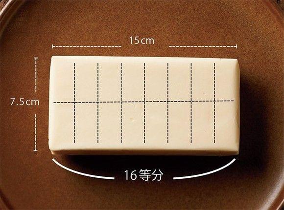 「バター大さじ1」の計り方って知ってる?意外と知らない料理の基本を覚えておこう 画像(1/4) 「大さじ1」分で切り分けておくと次に使うときに楽