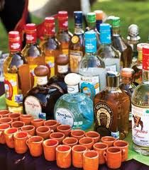 I like the idea of having shots of different kinds of tequila!