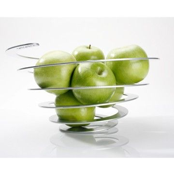 As part of our spotlight on Ototo design we are offering for a limitedbtime only, their first ever product -the Poing-fruit bowl. Iron meets origami. This fruit bowl is made with iron that is laser cut, coated and hand stretched to create this fun, yet ultra-modern fruit bowl.
