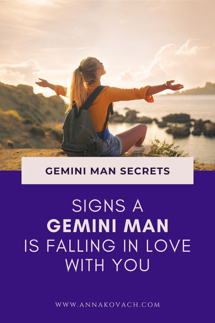 7 Signs a Gemini Man Is Falling In Love with You - How to