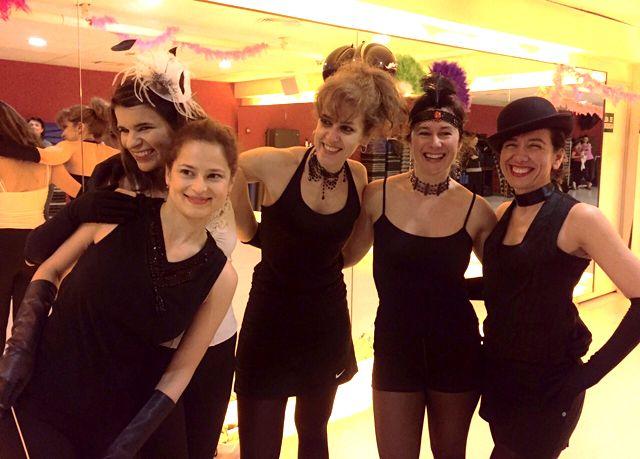 Master Class Zumba Cabaret en Metropolitan Abascal.