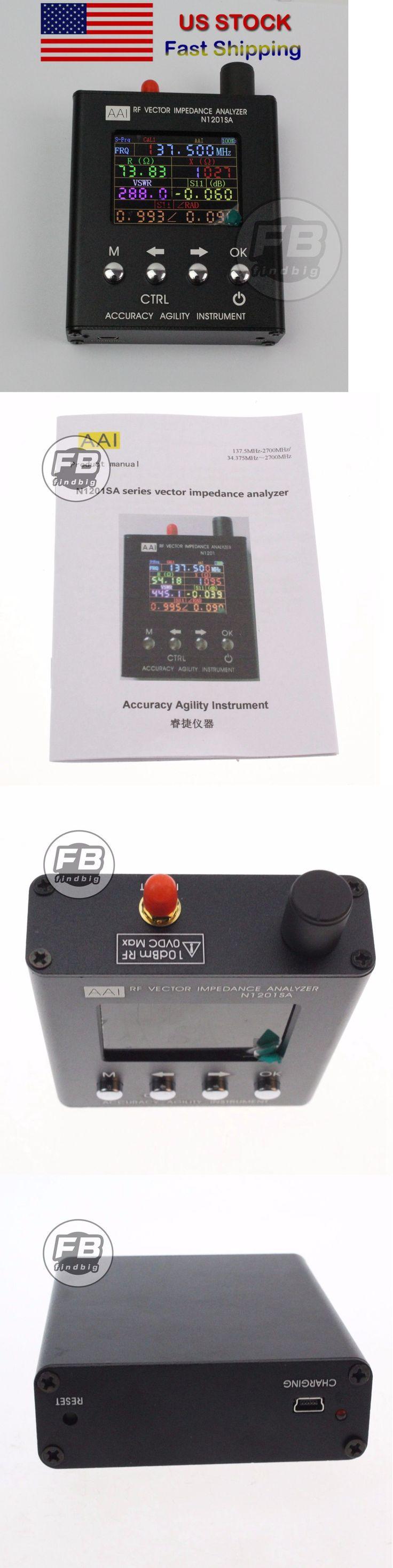 Other Ham Radio Equipment: N1201sa 140Mhz 2.7Ghz Uv Rf Vector Impedance Ant Swr Antenna Analyzer Meter -> BUY IT NOW ONLY: $175.99 on eBay!