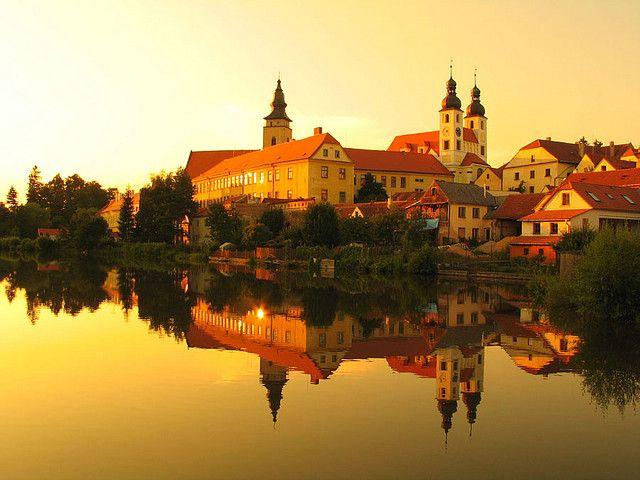 telc #czech republic #reflections