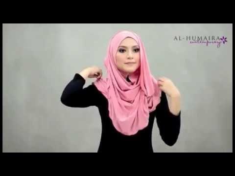 Tutorial  2017 Hijab Roxane Terbaru Cantik dan Menawan