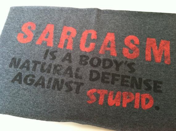 T Shirt Logo  Sarcasm by IdleHandsYarnSupply on Etsy, $1.50Funnyness Woo Woo