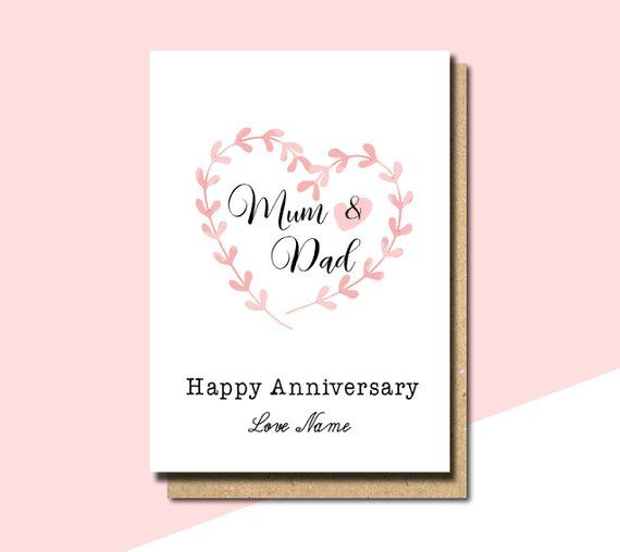 Anniversary Card For My Parents 31st Wedding Anniversary 2016 Homemade Anniversary Cards Anniversary Card For Parents Anniversary Greeting Cards