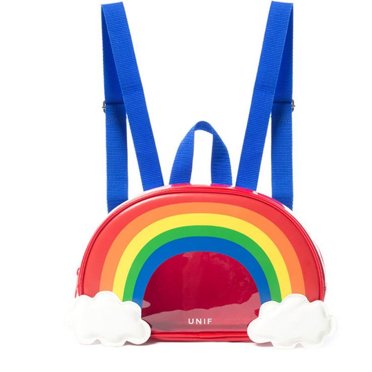 """Style:cute+kawaii,sweet+rainbow,cute+bags,cute+harajuku Material:pu Color:rainbow Size:24cm/9.44""""x33cm/12.99""""x7cm/2.75""""  Tips: *Please+double+check+above+size+and+consider+your+measurements+before+ordering,thank+you+^_^  Visiting+Store: Http://cuteharajuku.storenvy.com  Find+more+cute+..."""